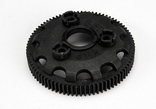4683 - Spur gear, 83-tooth (48-pitch) (for models with Torque-Control slipper clutch) (TRA4683)