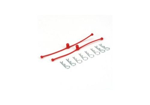Body-Klip Retainer Red (DUB2248)