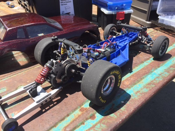 No Prep Rc Drag Racing